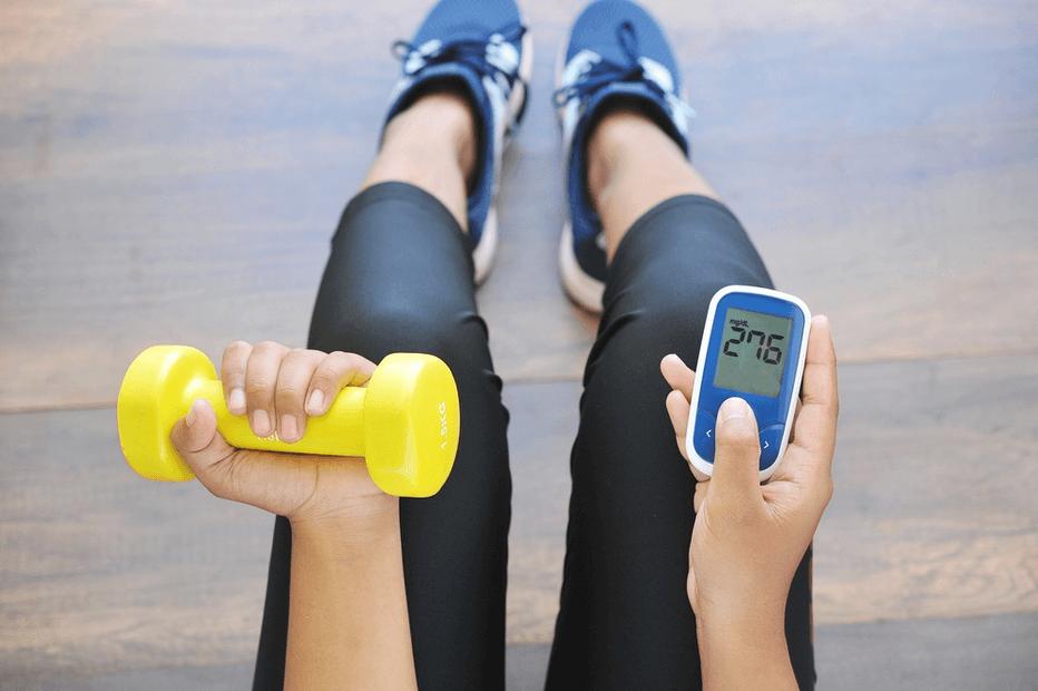 Physical activity in diabetes mellitus